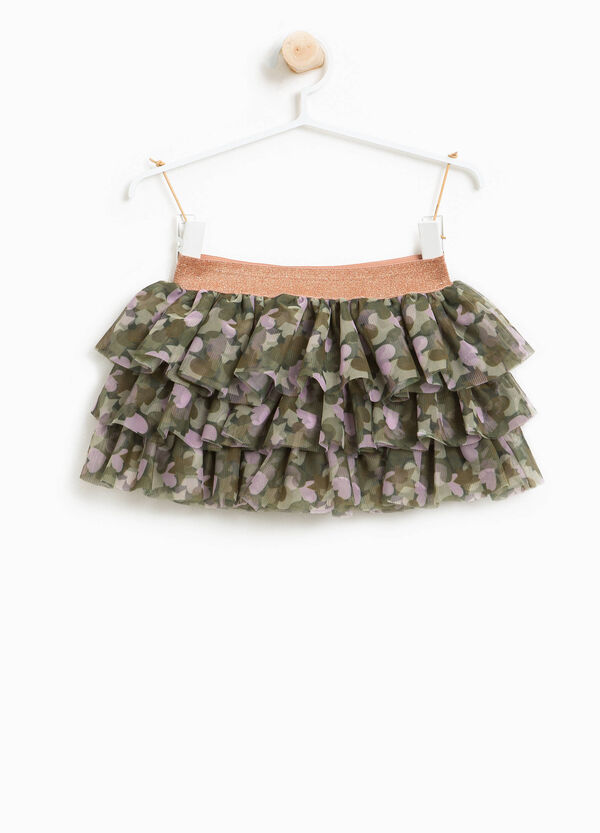 Skirt with heart tulle frills | OVS
