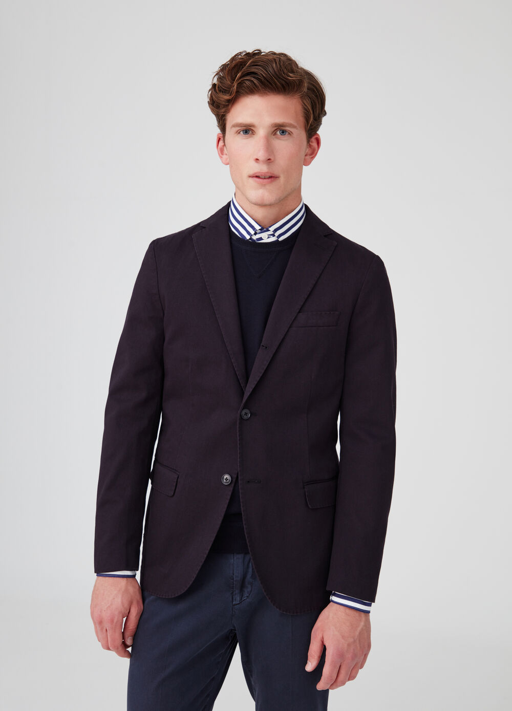Rumford 100% cotton twill blazer