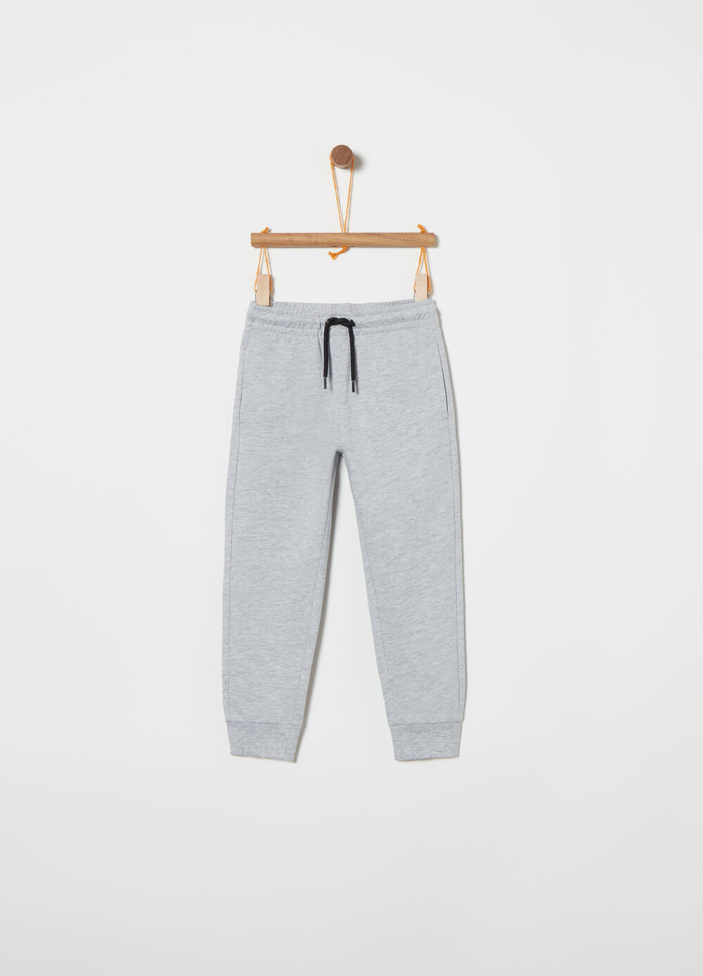 Lightweight fleece trousers with functional pockets