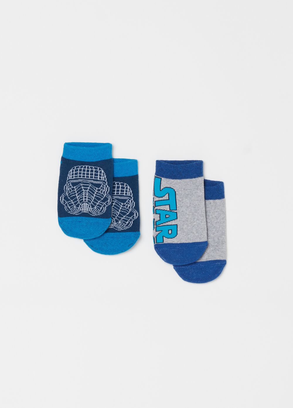 Two-pair pack short socks with Star Wars embroidery