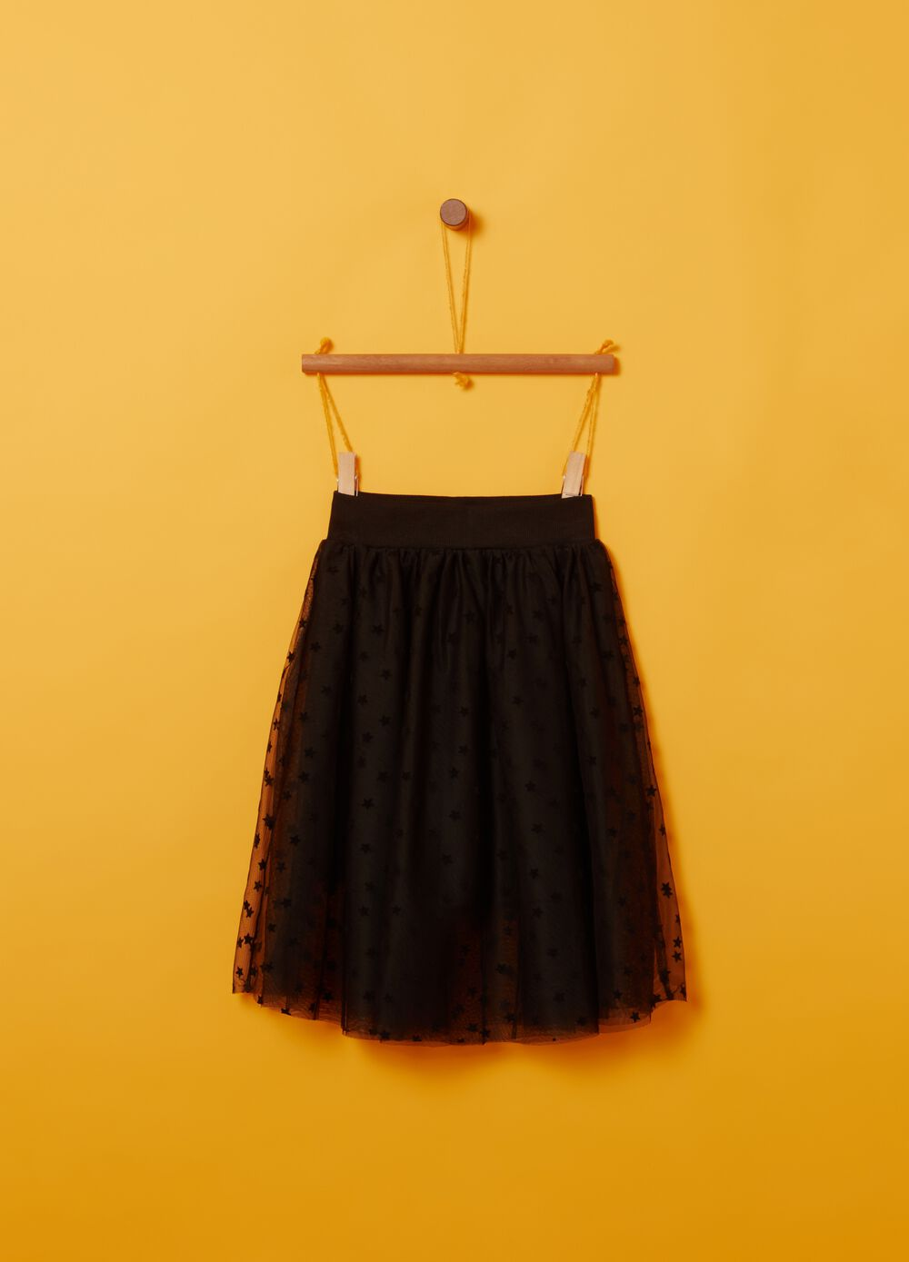 Skirt with stars and tulle
