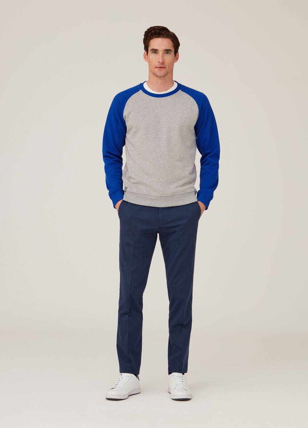 Rumford sweatshirt with raglan sleeves