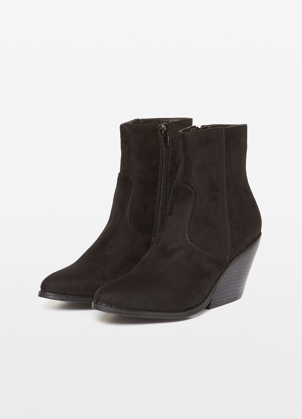 Young ankle boot with zip