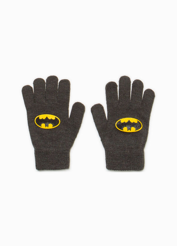 Batman knitted gloves | OVS
