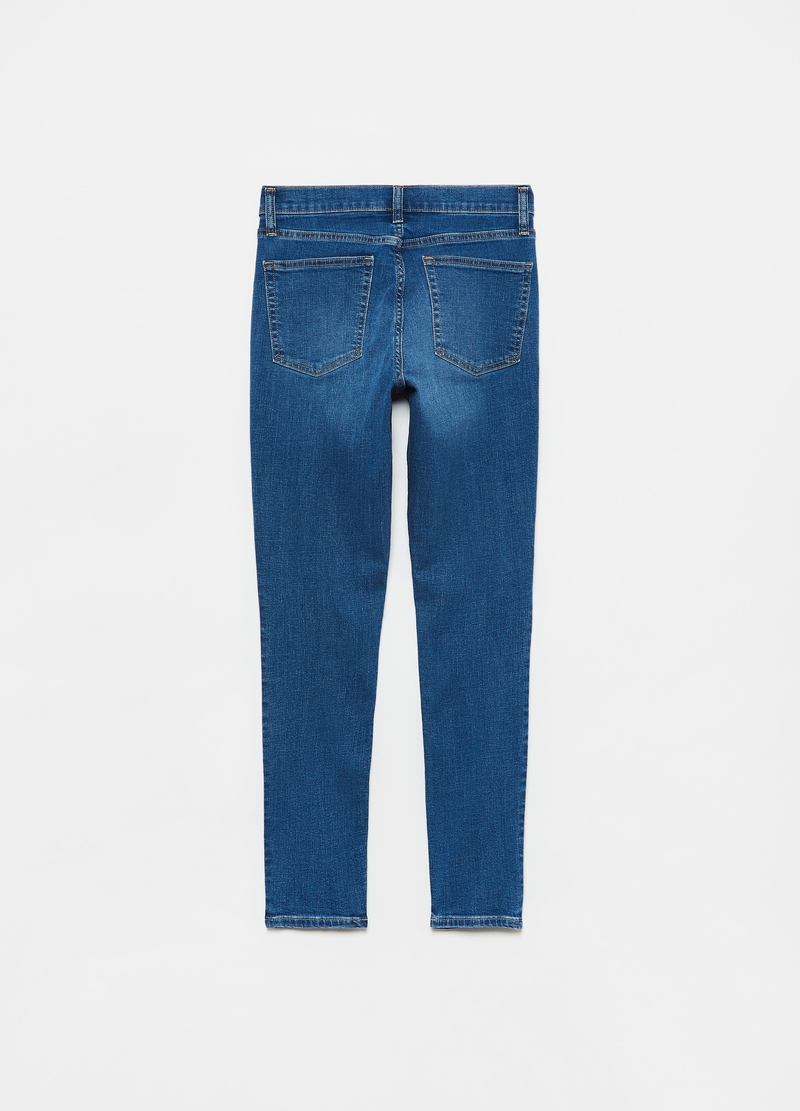 GAP skinny-fit jeans in 100% cotton image number null