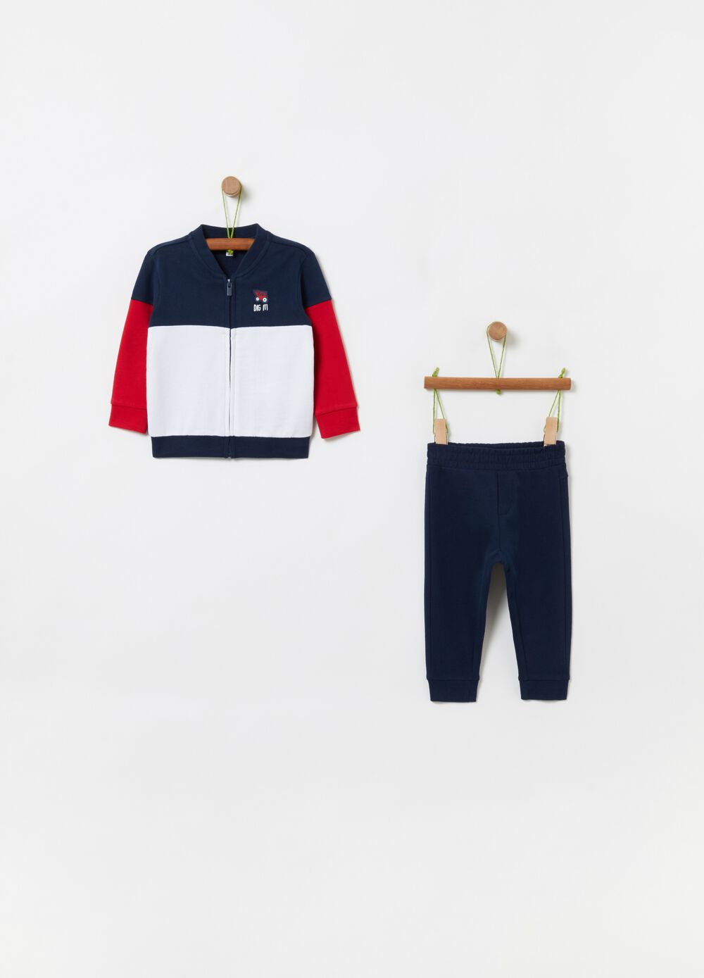 100% organic cotton jogging set
