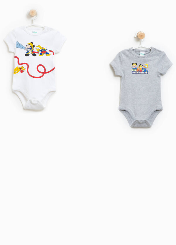 Two-pack Mickey Mouse bodysuits | OVS
