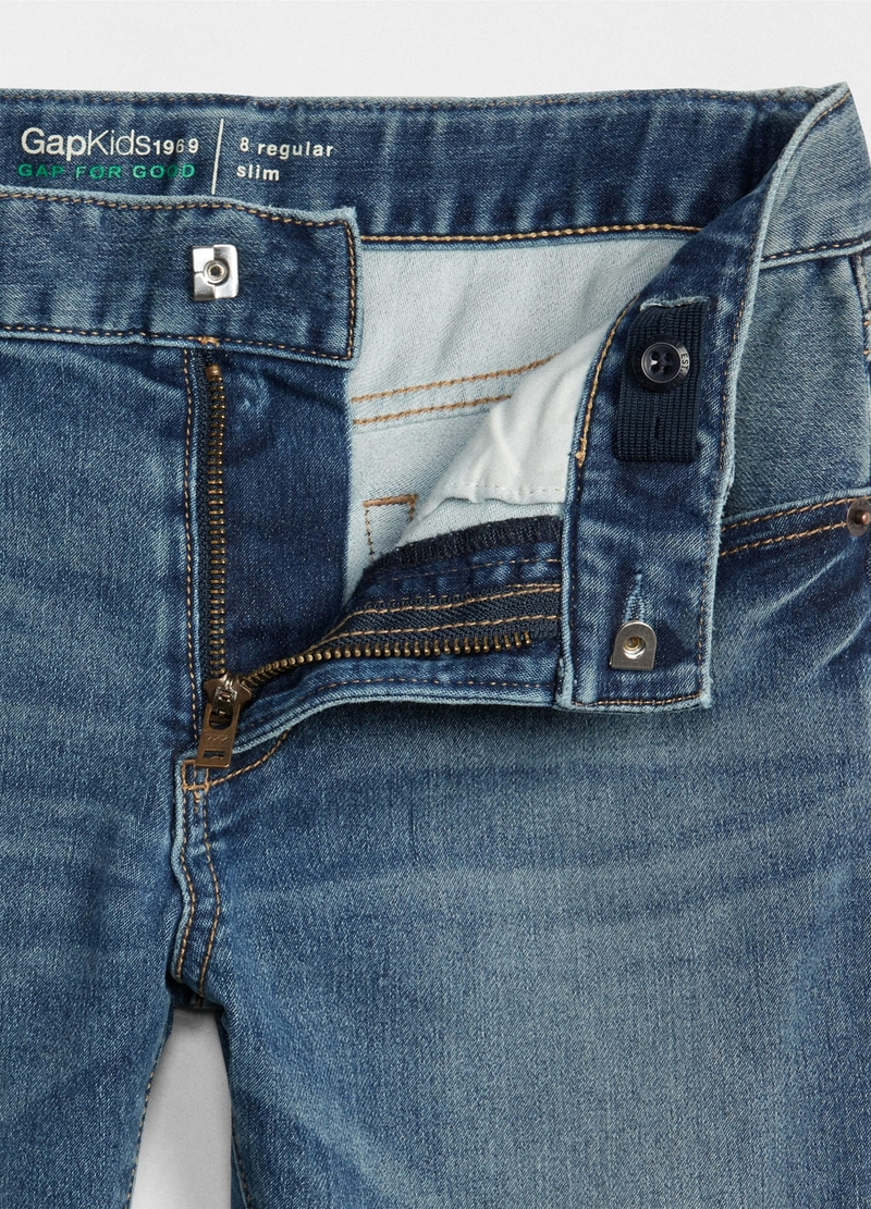 GAP regular-fit jeans with five pockets image number null