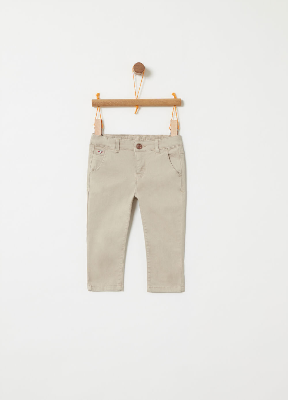 5-pocket stretch trousers