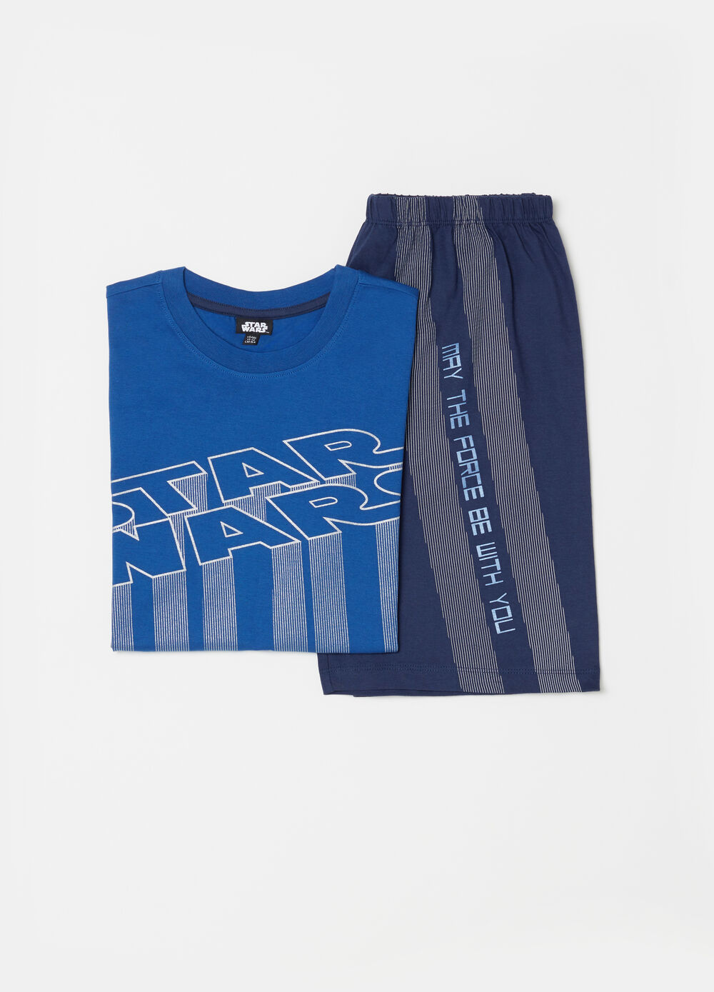 Star Wars pyjama top and shorts