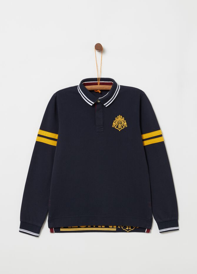 100% cotton polo shirt with Harry Potter print