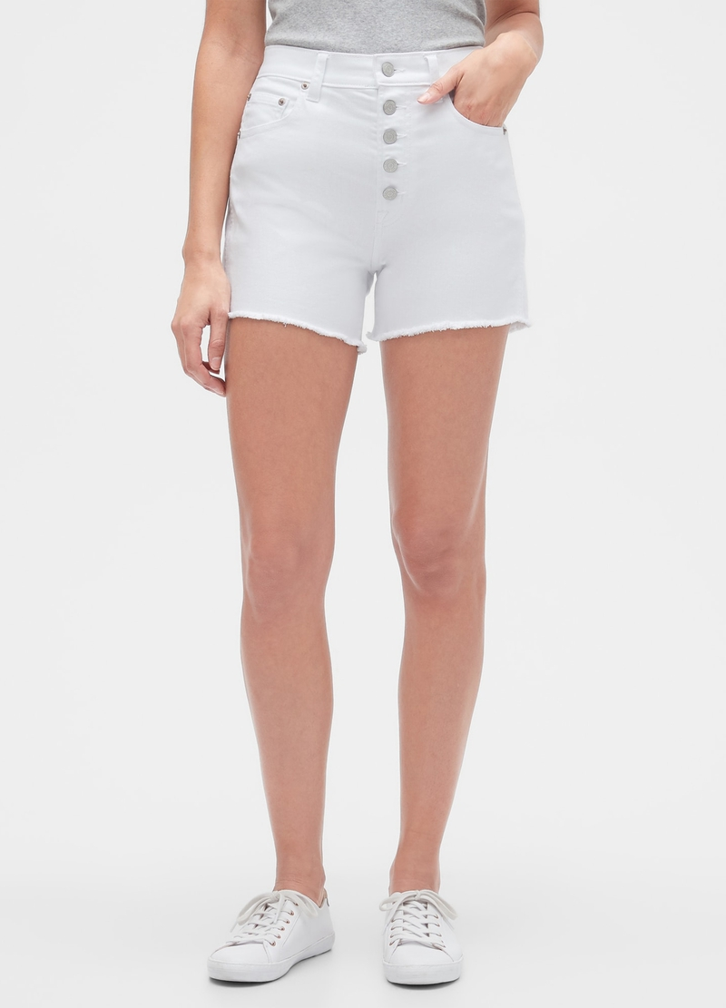 GAP denim shorts image number null