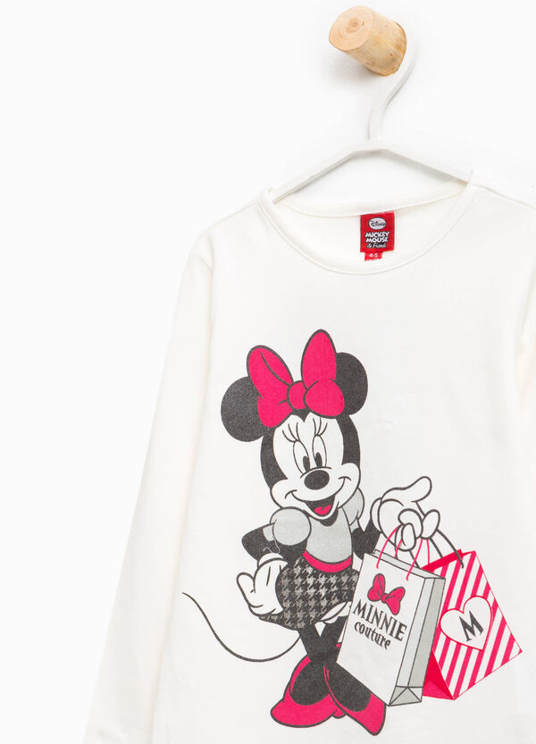 Cotton T-shirt with Minnie Mouse print | OVS