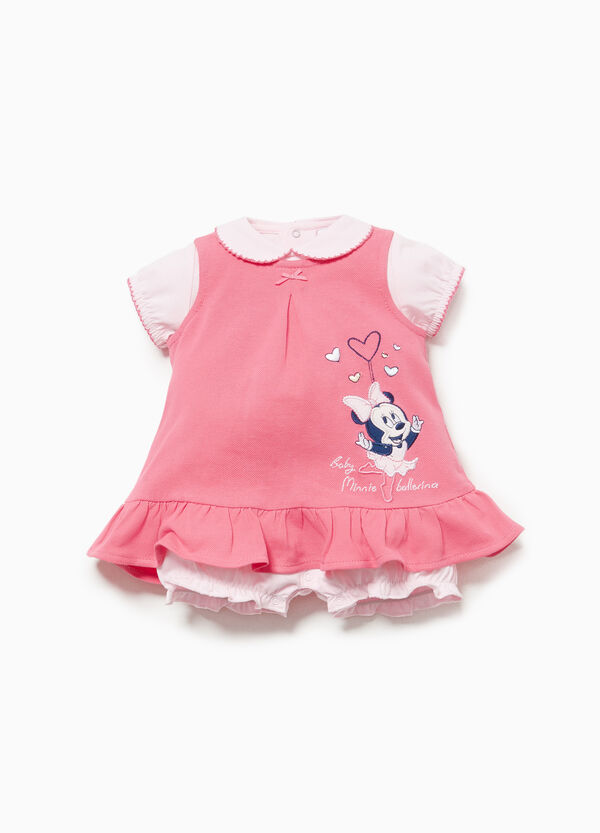 Minnie Mouse romper suit and dress outfit