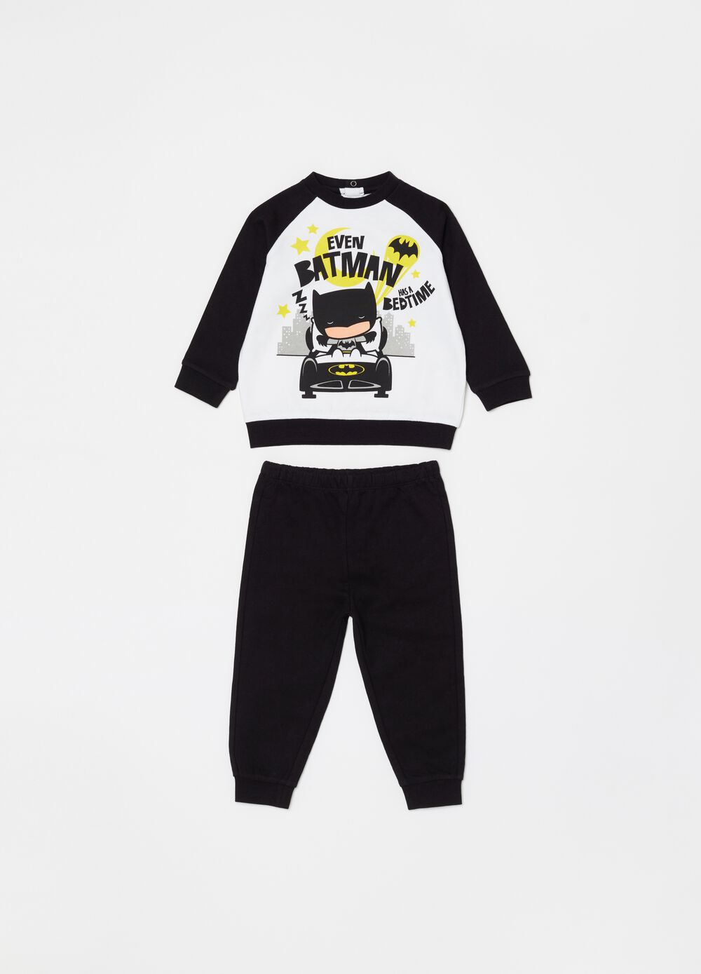 Long pyjamas with Warner Bros Batman print