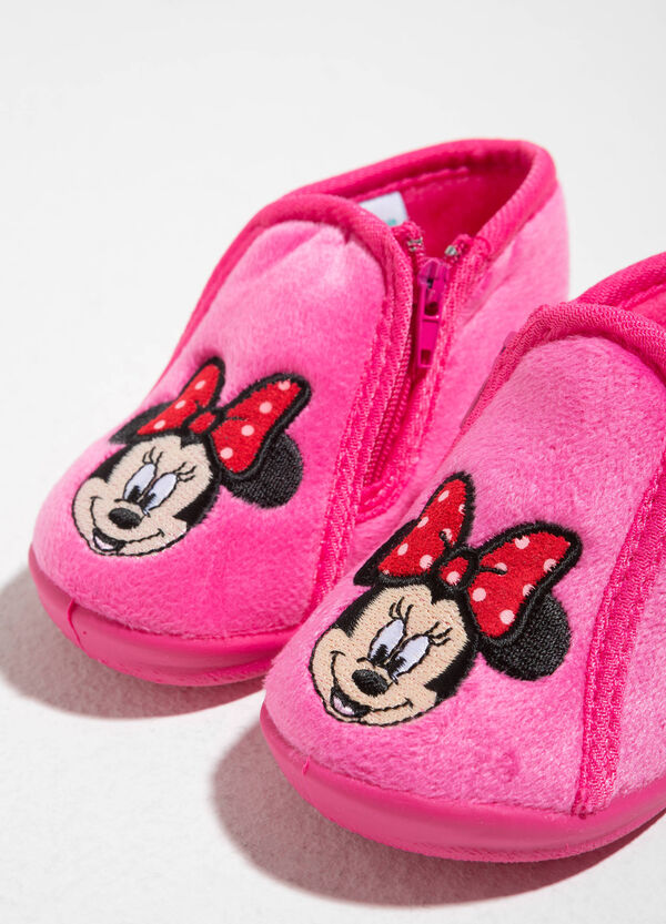 Canvas slippers with Minnie Mouse embroidery | OVS