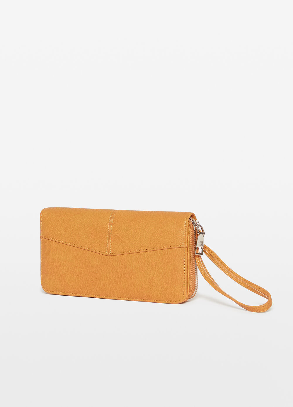 Purse with two compartments