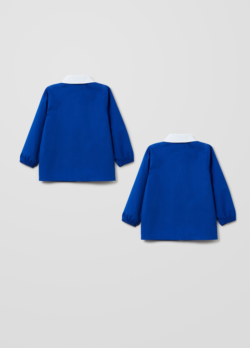 Two-pack short smocks with zip image number null