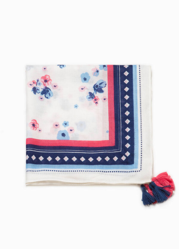 Pashmina with floral tassels | OVS