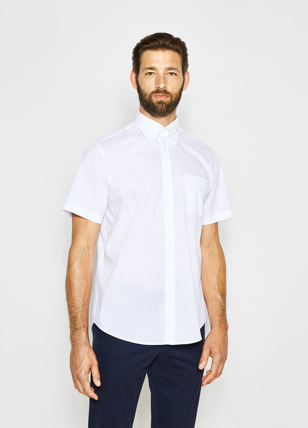 Regular-fit formal shirt with small pocket | OVS