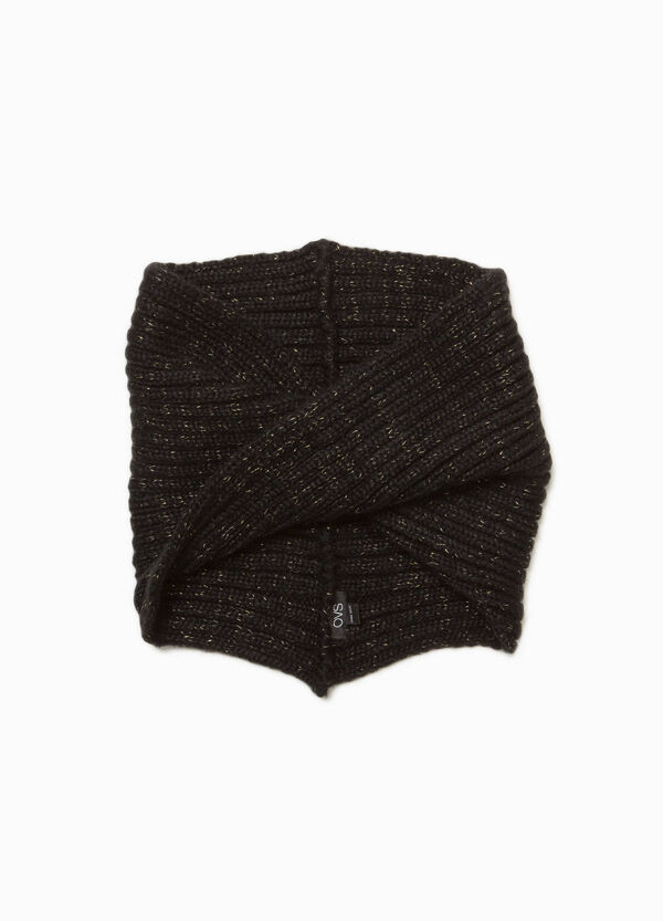 Ribbed glitter neck warmer | OVS