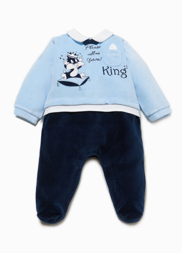 Baby Sylvester onesie with feet | OVS