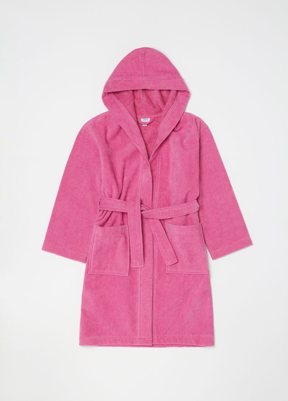 Bathrobe in 100% organic cotton