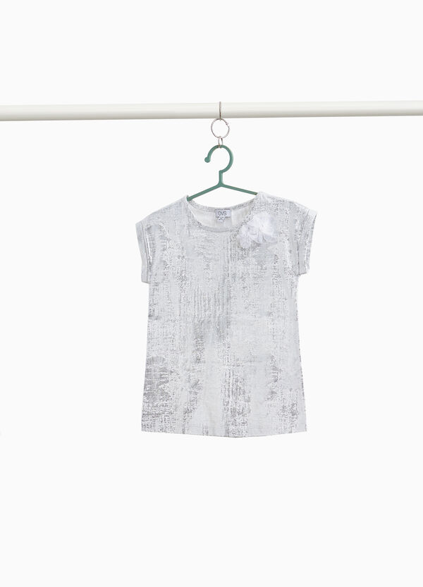 100% cotton misdyed T-shirt
