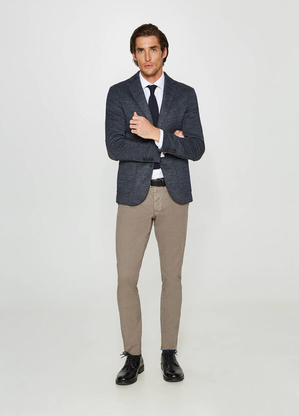 Rumford two-button jacket with lapels