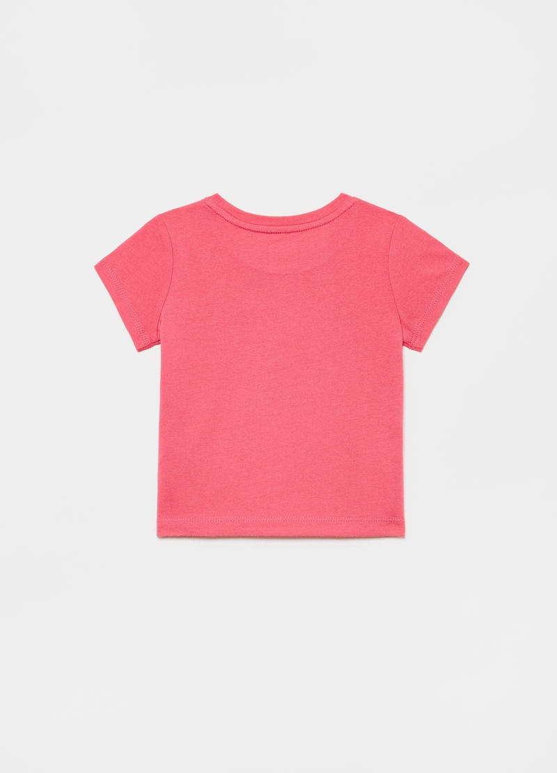 GAP T-shirt with glitter logo print image number null