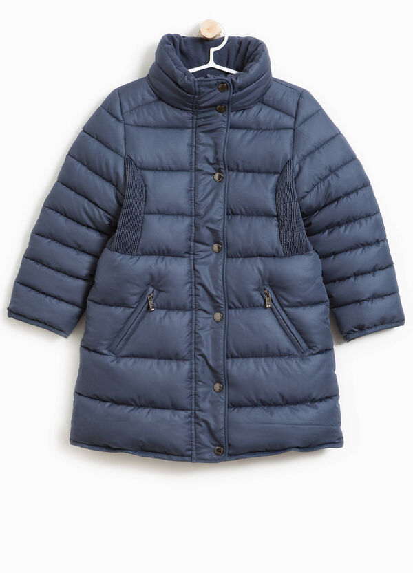 Long down jacket with high neck | OVS