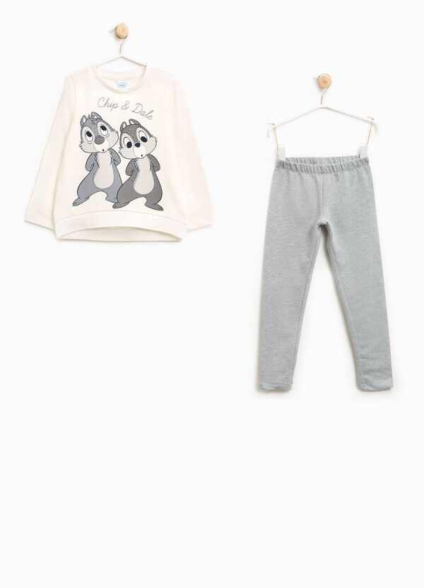 Chip 'n' Dale T-shirt and trousers outfit | OVS
