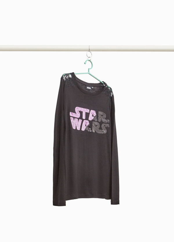 Star Wars lace and sequins T-shirt