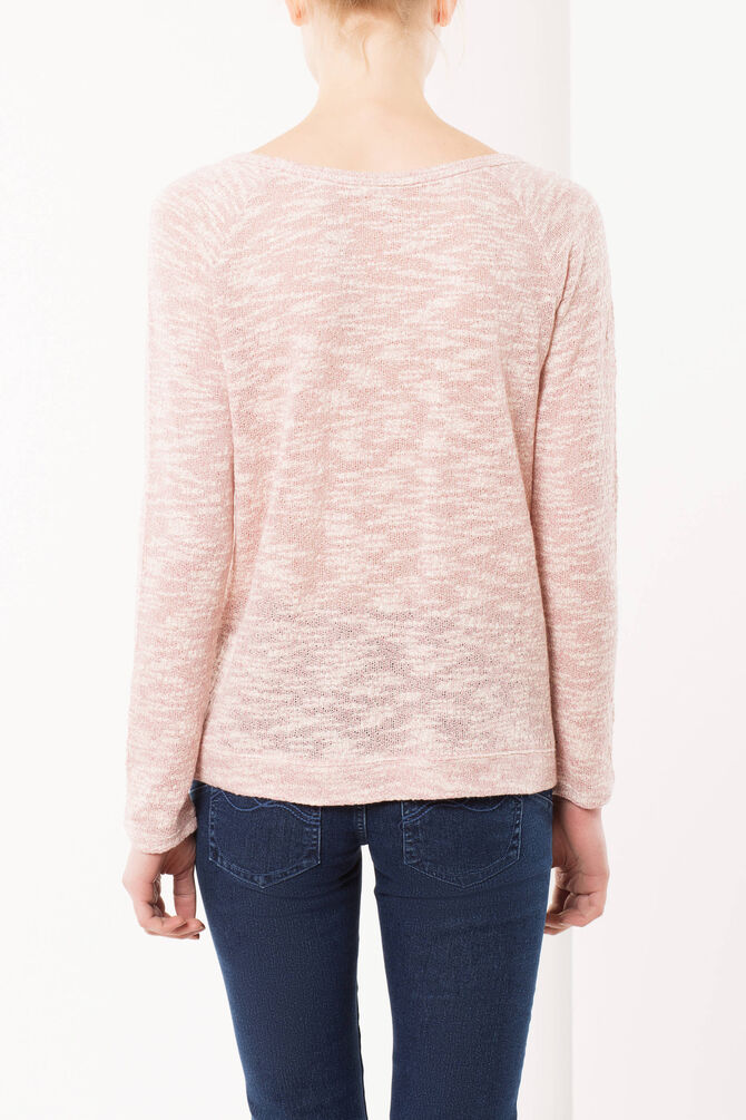 Sweater with lace