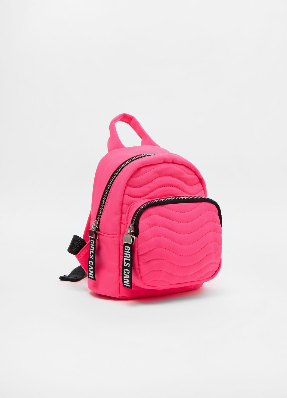 Soft quilted backpack