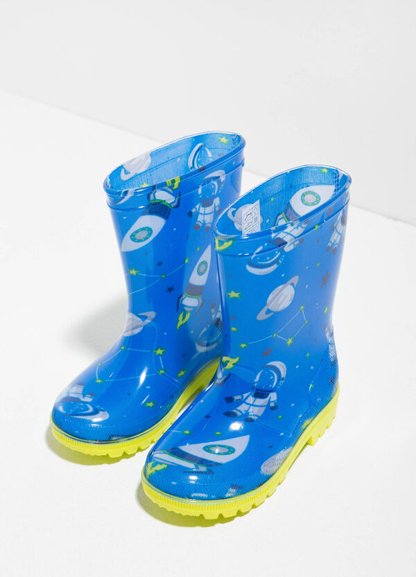 Patterned rain boots | OVS