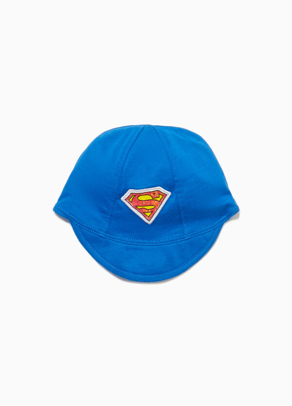 Hat with visor and Superman patch