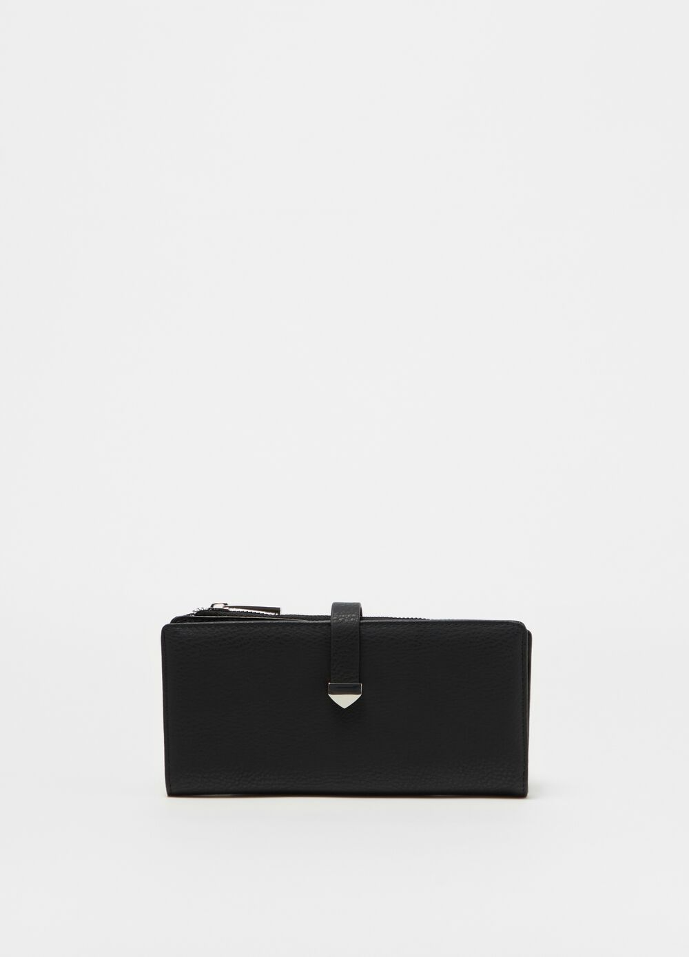 Rectangular solid colour wallet