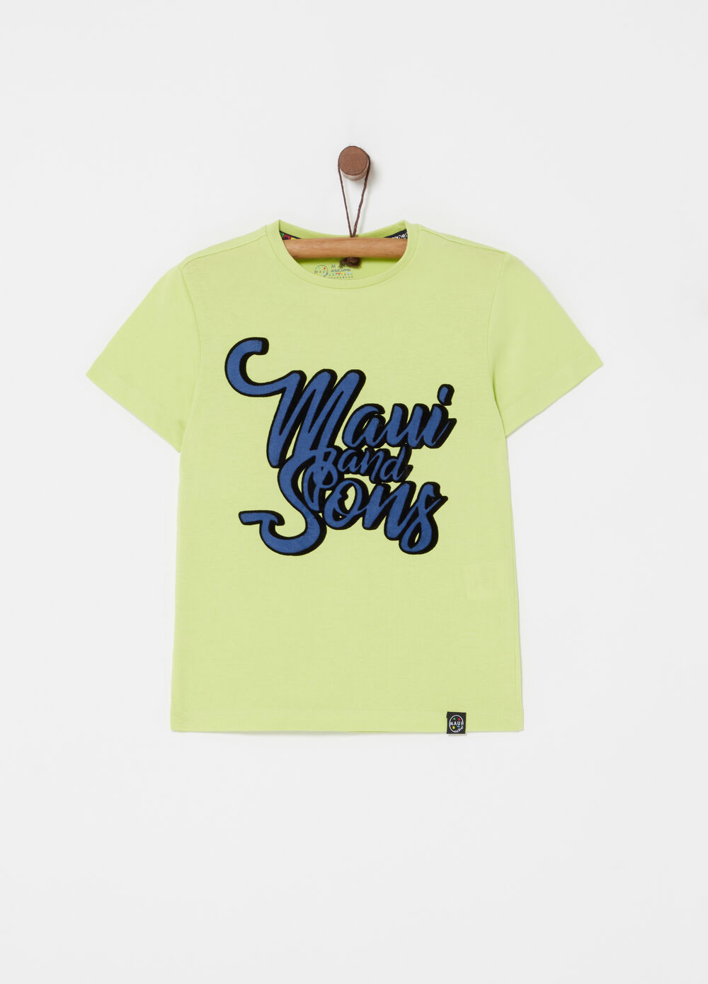 T-shirt puro cotone stampa Maui and Sons