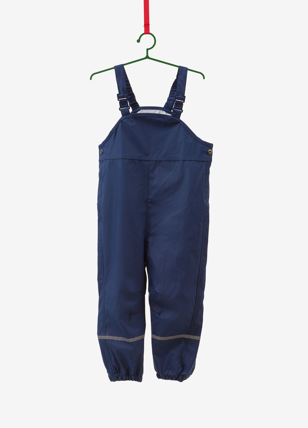 Waterproof dungarees with inserts