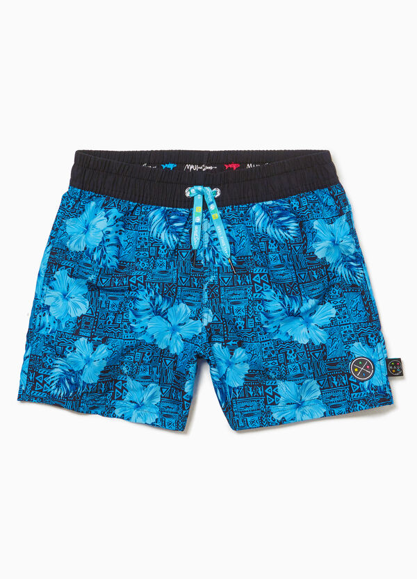 Flower beach shorts by Maui and Sons