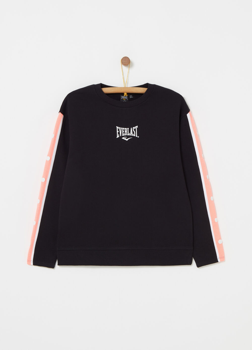 Everlast sweatshirt with inserts and false buttons
