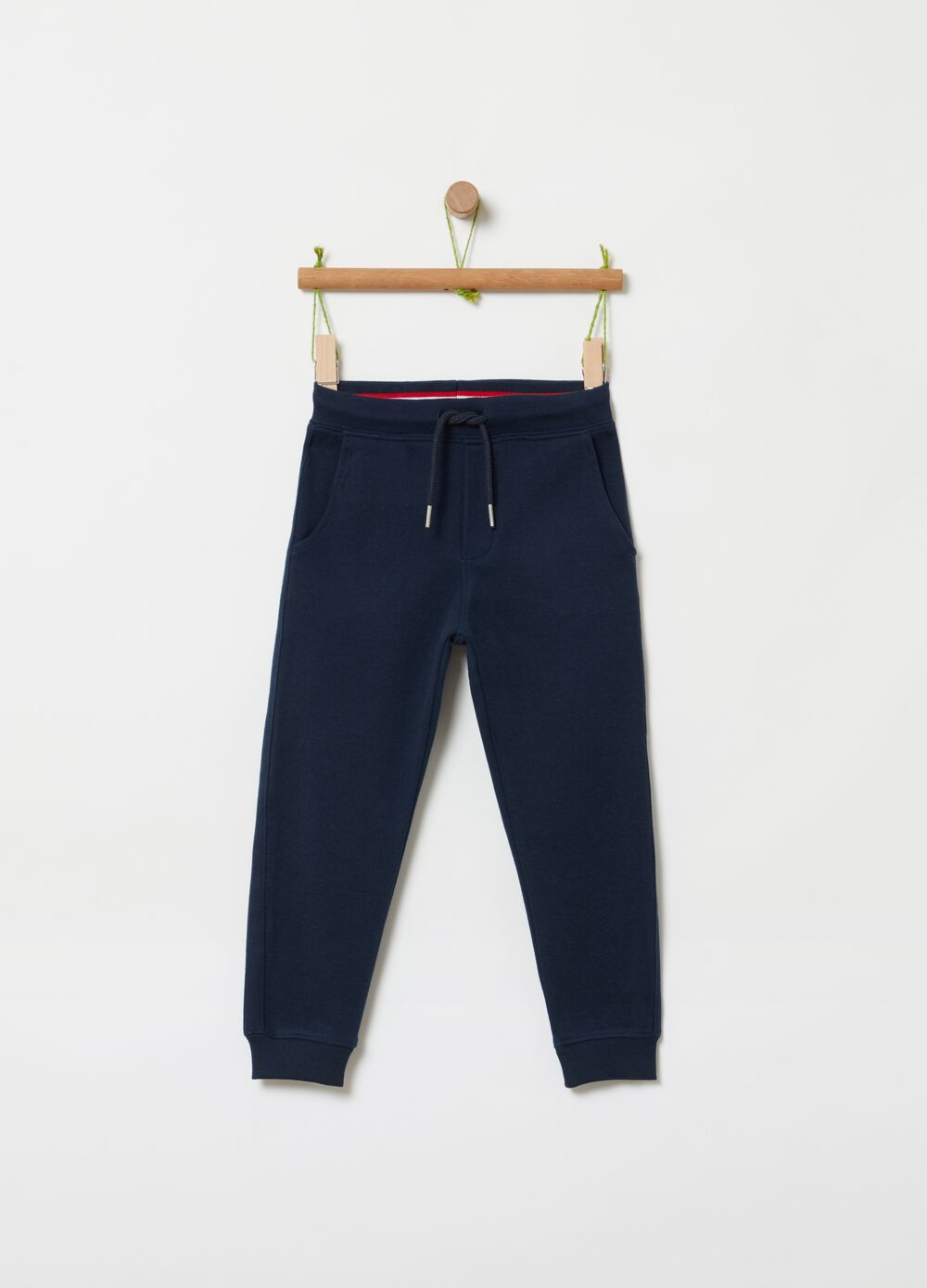 Jogger trousers with drawstring
