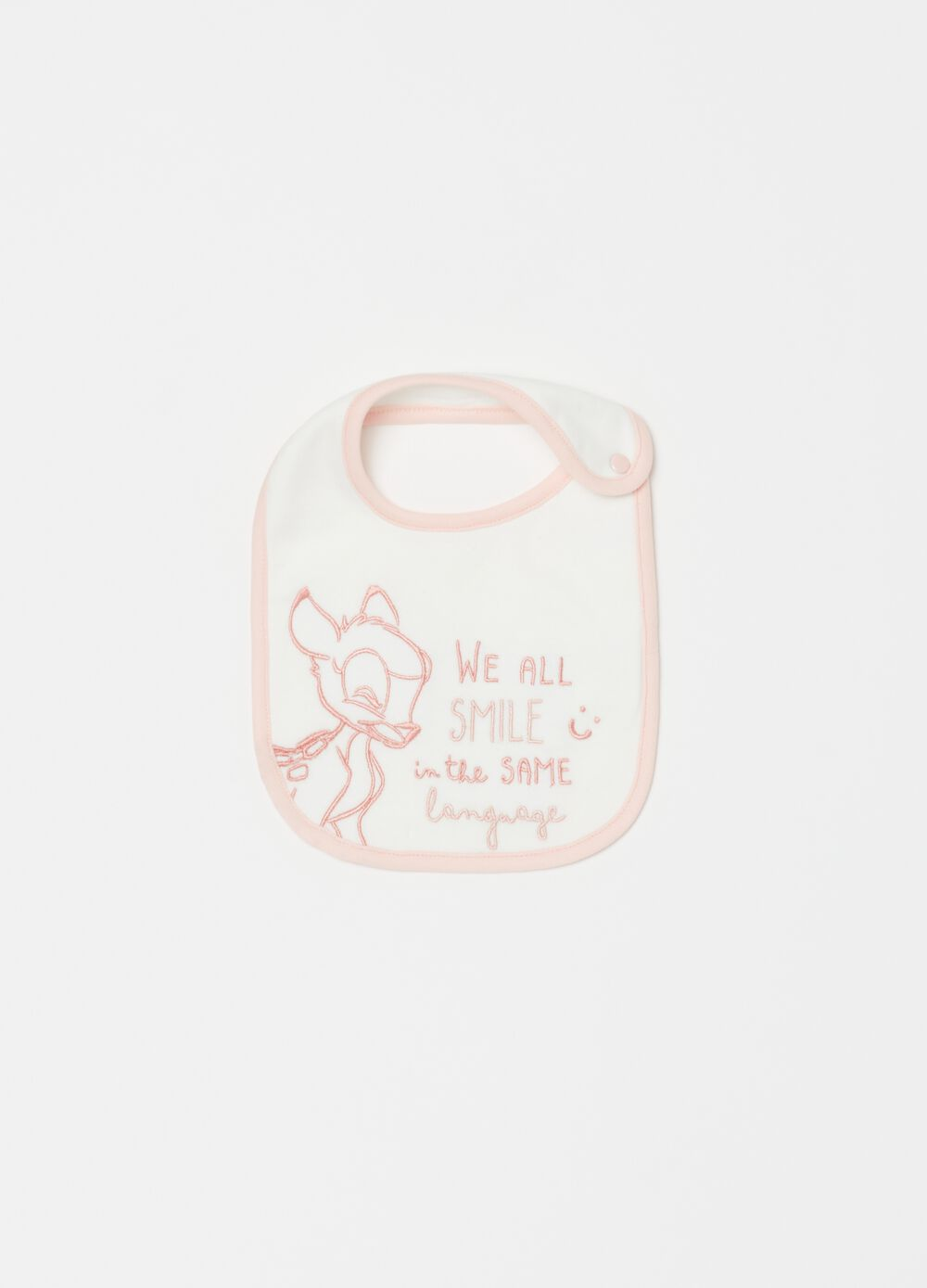Disney Baby Bambi bib in organic cotton