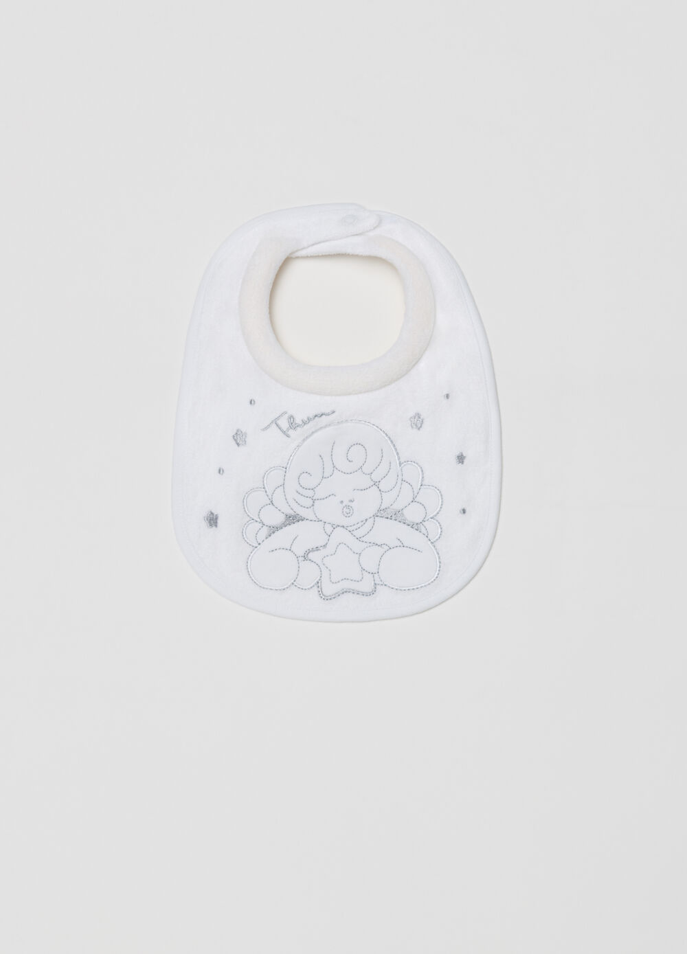 THUN terry bib with padded collar