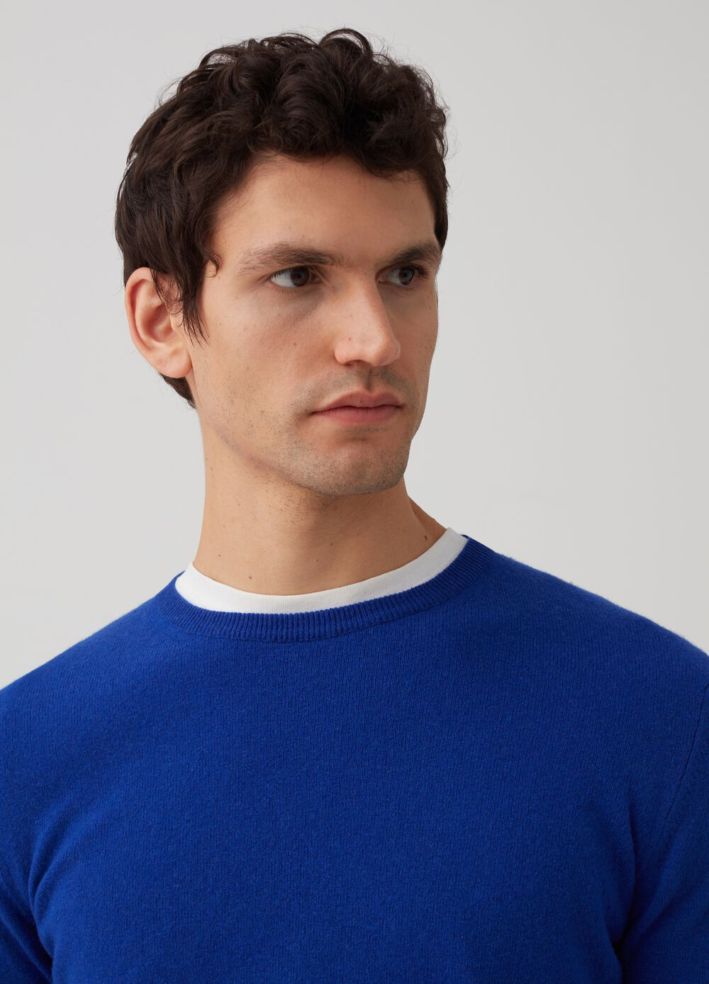 Rumford knitted pullover in wool