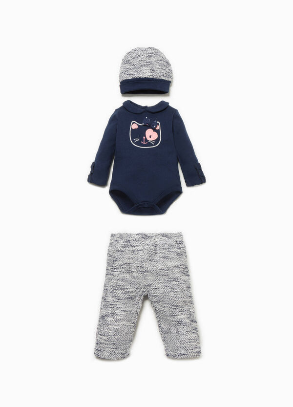 Hat, bodysuit and trousers set   OVS