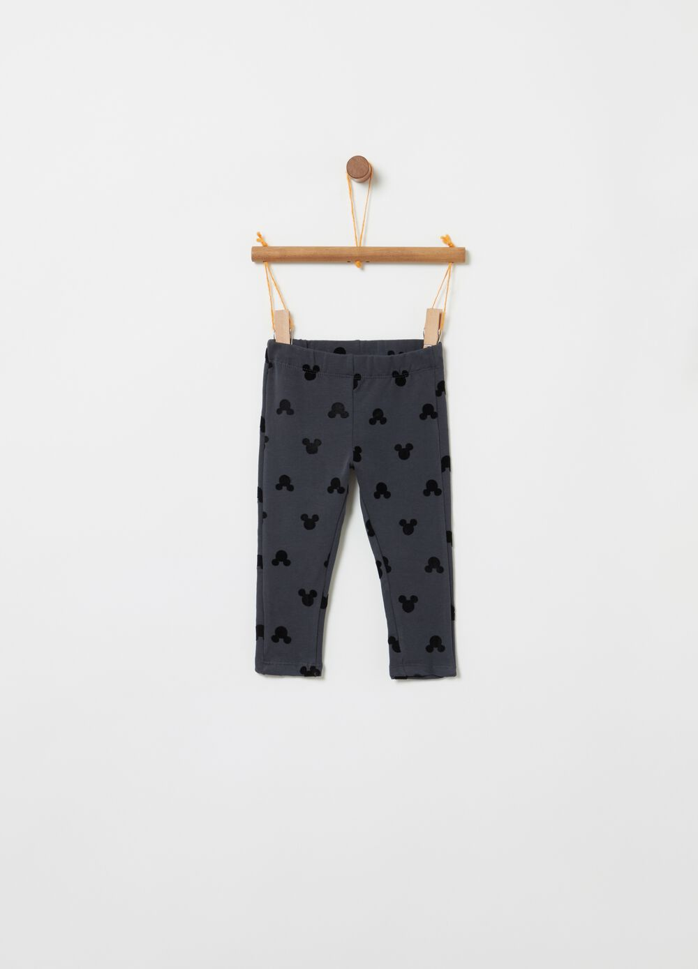 Stretch jeggings with Disney Minnie Mouse print