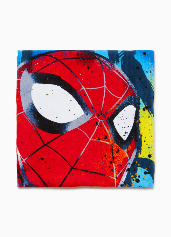 100% cotton Spiderman beach towel