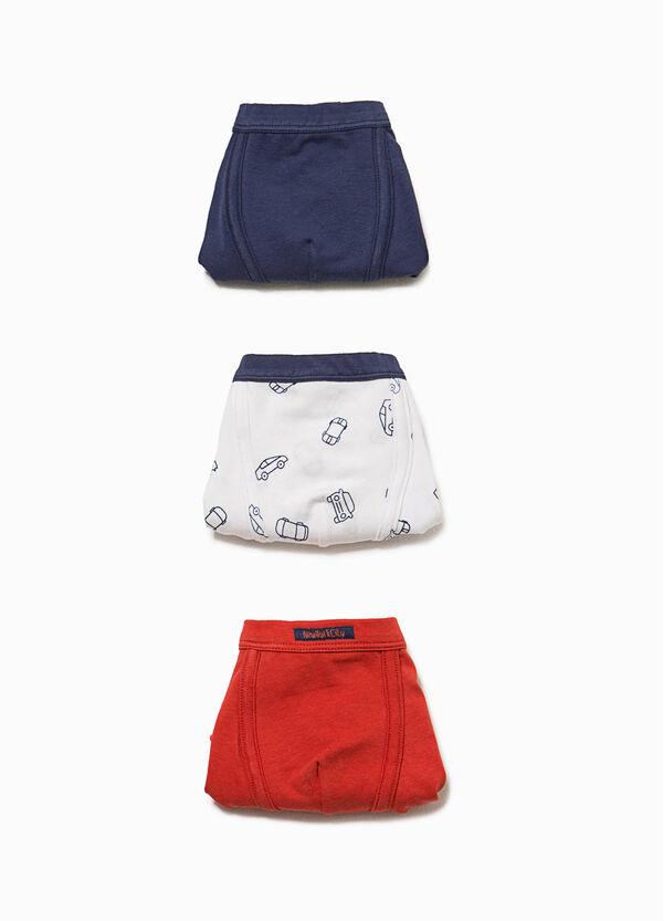 Three-pack boxer shorts with cars pattern | OVS